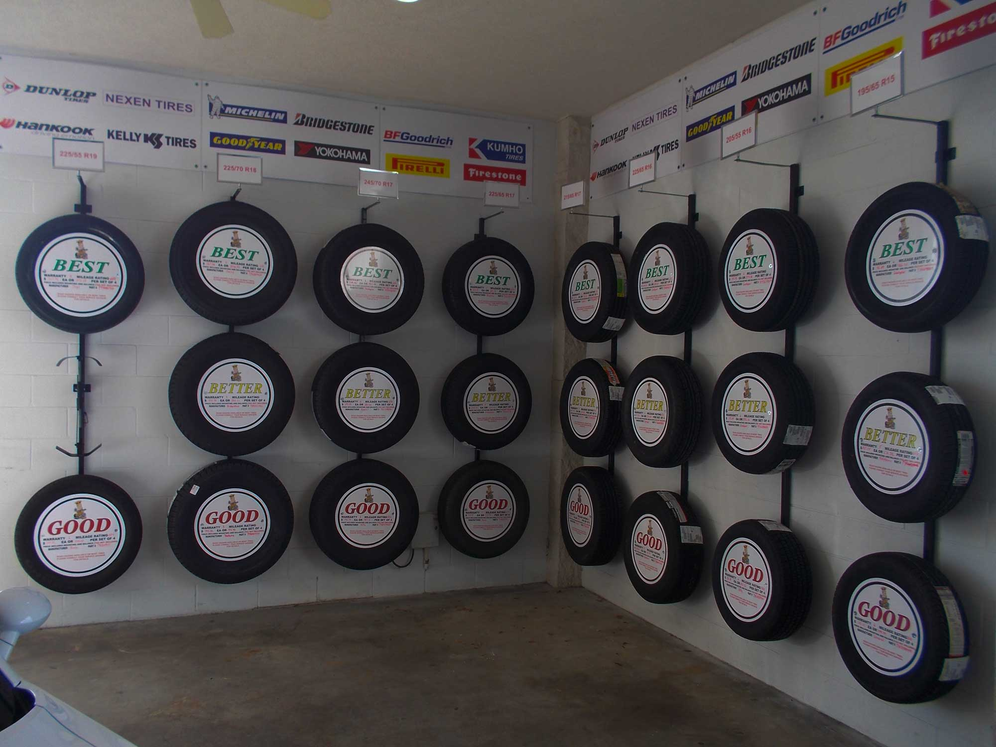 Bfd Solutions Custom Tire Displays For Automotive Markets